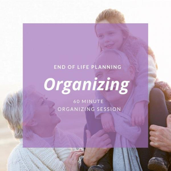 Create an End of Life Plan -- Book A Session Today!