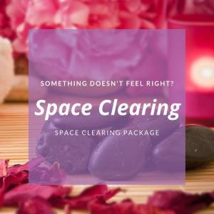 Clear Your Energetic Clutter - Book Your Space Clearing Services Today!