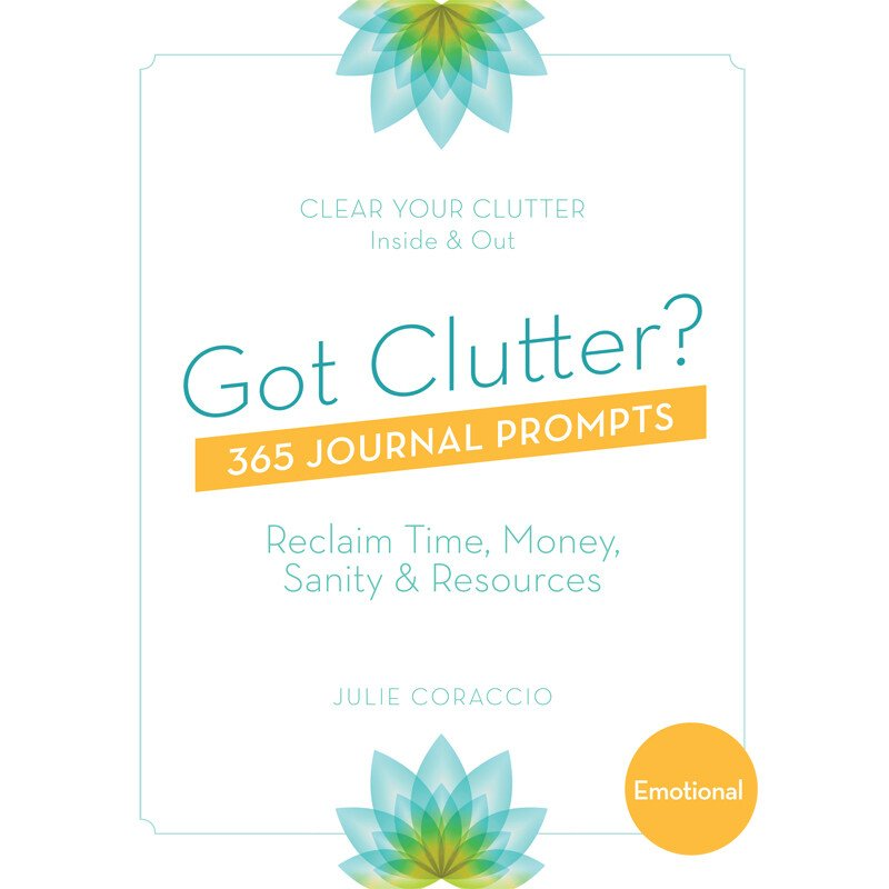 Create Emotional Ease - Buy your 365 Journal Prompts Book to clear emotional clutter today!