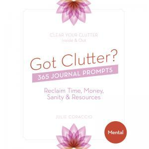 Create a plan for mental clarity - Buy your mental clutter journal prompts book today!
