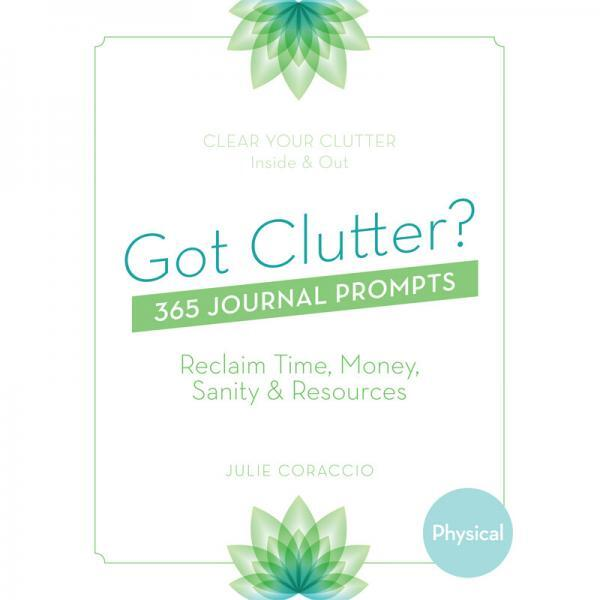 Create a plan clear your physical clutter - Buy your physical journal prompts book today!