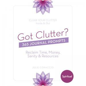Create the Life You Desire - Buy Your Spiritual Clutter Journal Prompts Book today!